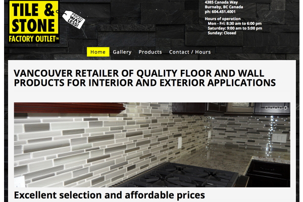 Tile & Stone Factory Outlet